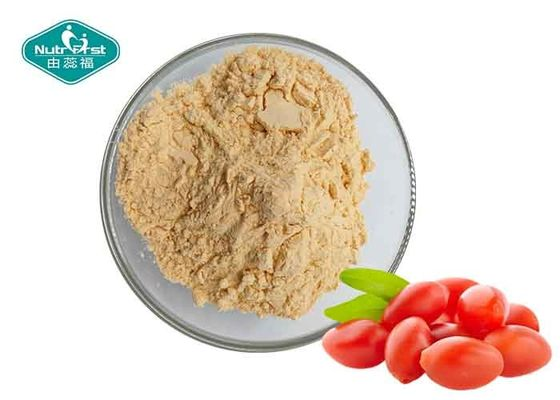 Organic Red Wolfberry Fruit And Vegetable Powder / Freeze Suszone Goji Berry Powder